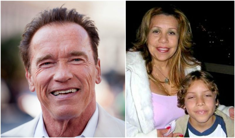 Arnold Schwarzenegger`s lover - maid Patty Baena