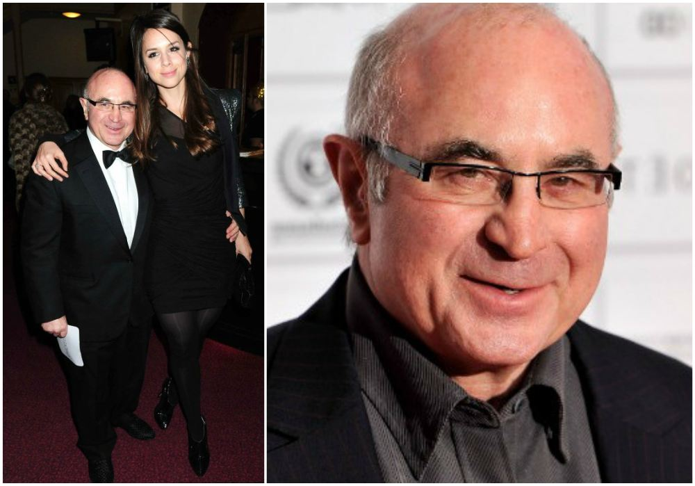 Bob Hoskins`  height 164 cm / 5'4.7 in