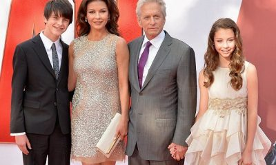 Catherine-Zeta Jones and Michael Douglas' kids