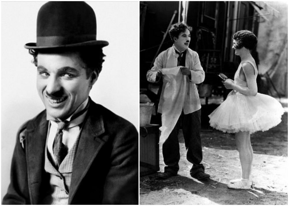 Charlie Chaplin`s height 165 cm / 5'5 in
