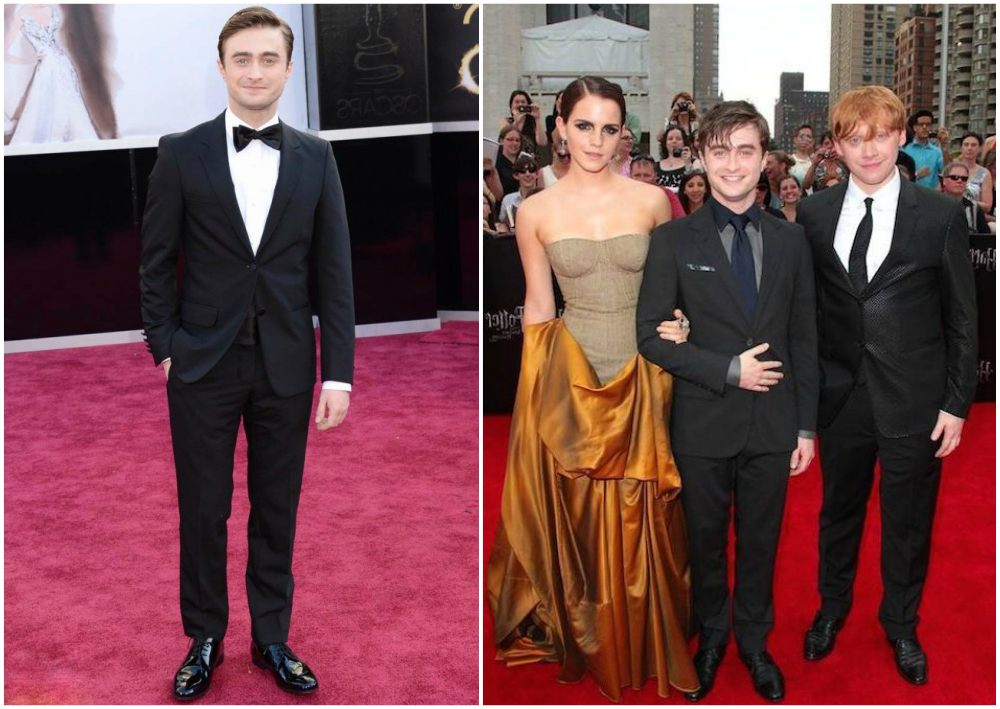 Daniel Radcliffe`s height 162cm / 5'4 in