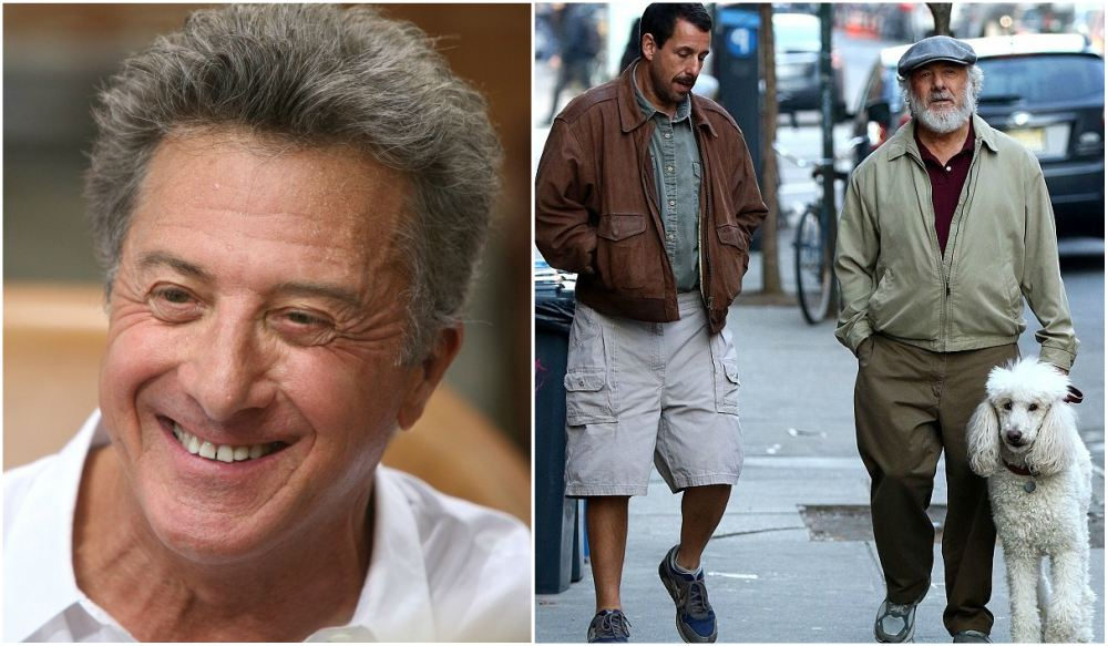Dustin Hoffman`s height 165 cm / 5'5 in