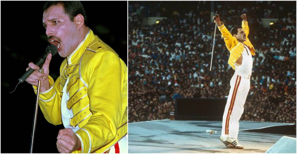 Freddie Mercury best stage costumes - 1986, London
