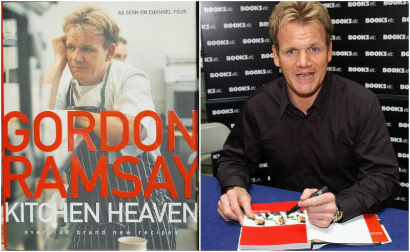 Gordon Ramsay`s book - Kitchen Heaven