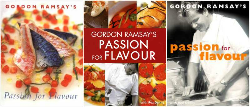 Gordon Ramsay`s book - Passion for flavour