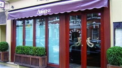 Gordon Ramsay`s career start in restaurant Aubergine, London