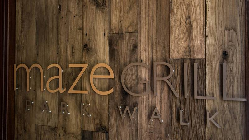 Gordon Ramsay`s career start in restaurant Aubergine (now Maze Grill Park Walk), London