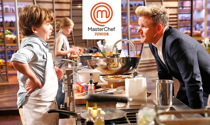 Gordon Ramsay`s TV show MasterChef Junior
