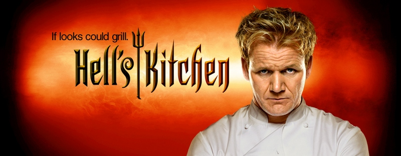 Gordon Ramsay`s TV show Hell's Kitchen