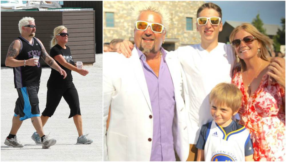 Guy Fieri`s family