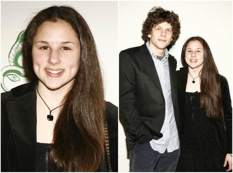 Jesse Eisenberg`s siblings - sister Hallie Eisenberg