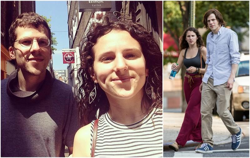 Jesse Eisenberg's siblings - sister Hallie Eisenberg