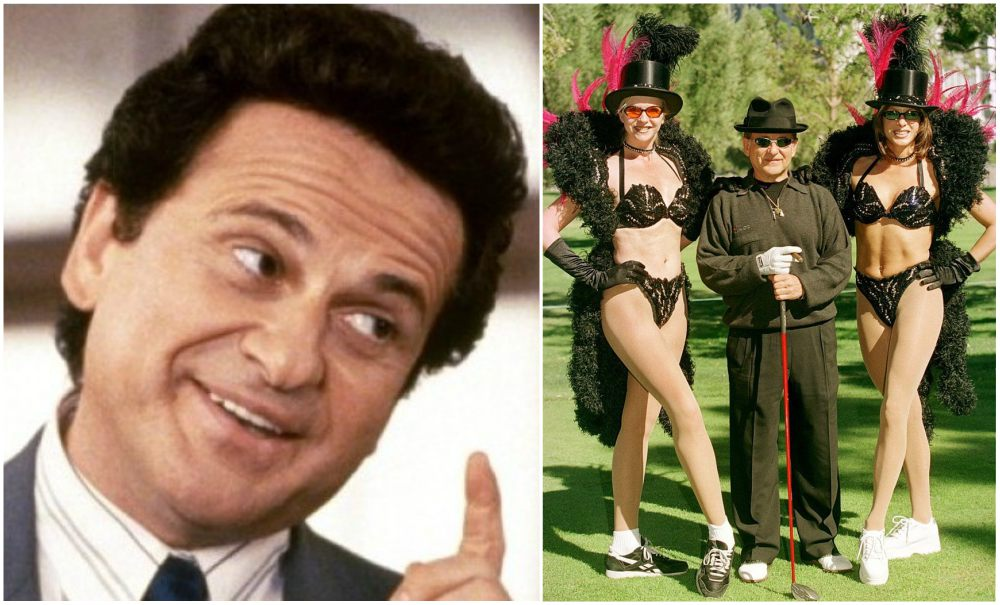 Joe Pesci`s height 162cm / 5'4 in