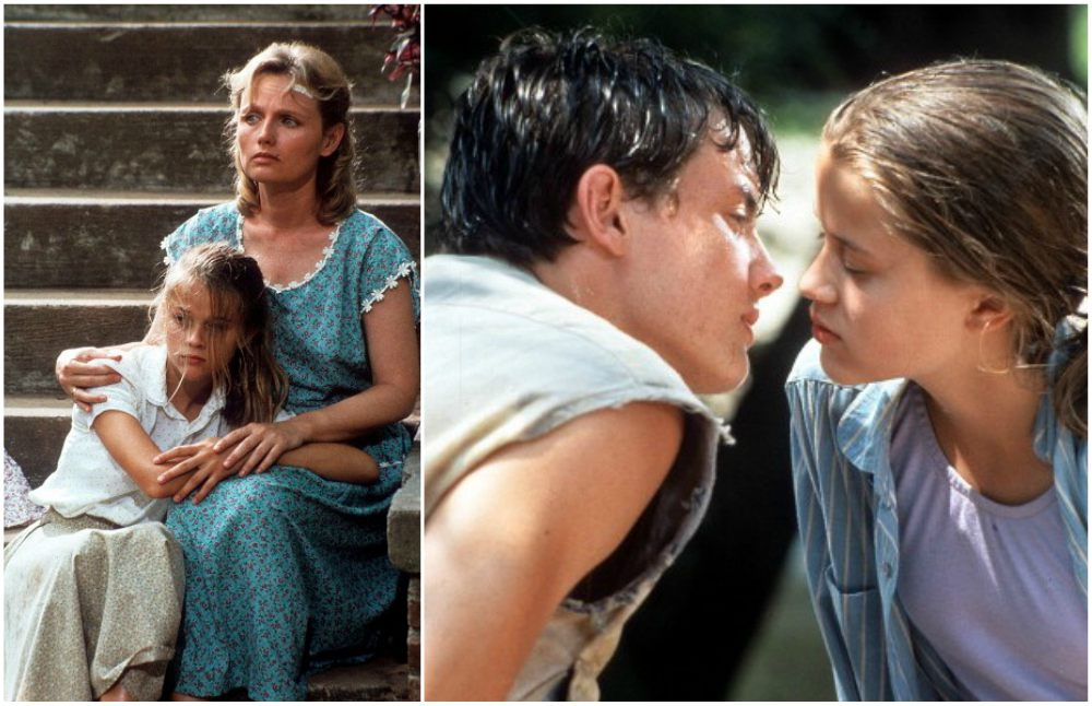 Little Reese Witherspoon in the movie The man in the moon, 1991