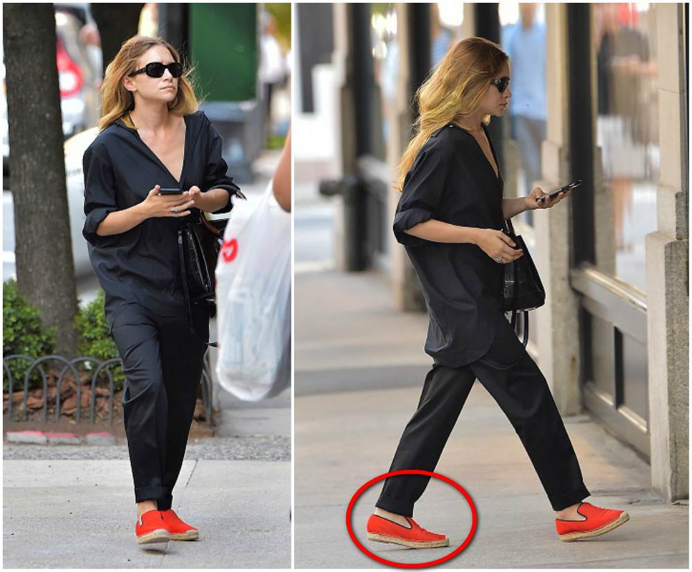 Female celebs shoe sizes: smallest and biggest
