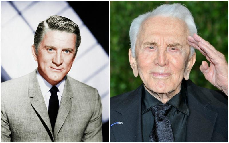 Michael Douglas` parents - father Kirk Douglas