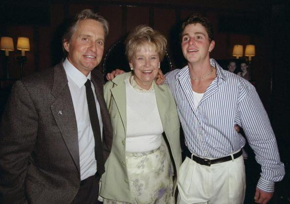 Michael Douglas` parents - mother Diana Dill