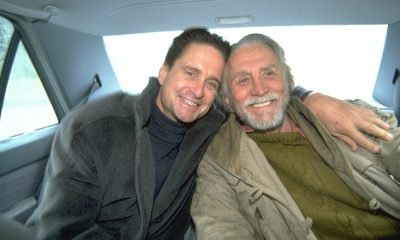 Michael Douglas and his father Kirk