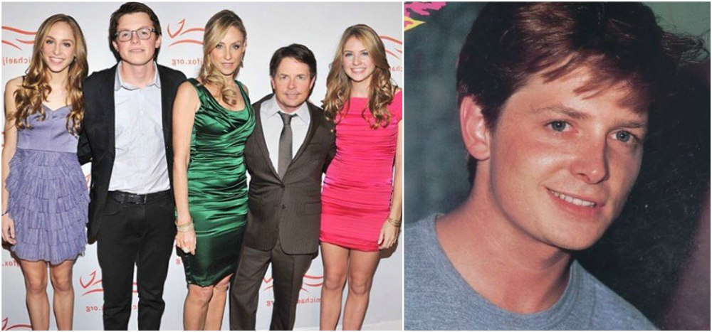 Michael J Fox`s height 161cm / 5'3.5 in