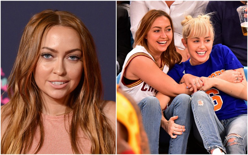 Miley Cyrus siblings - half-sister Brandi Cyrus