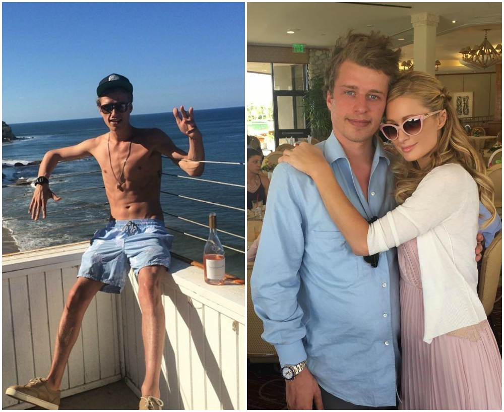 Paris Hilton`s siblings - Conrad Hilton 3