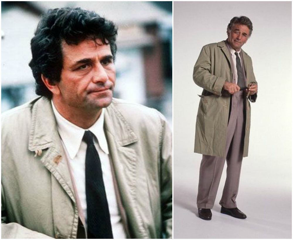 Peter Falk`s height 165 cm / 5'5 in