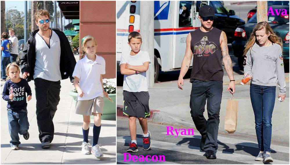 reese witherspoon her three beautiful lookalike kids