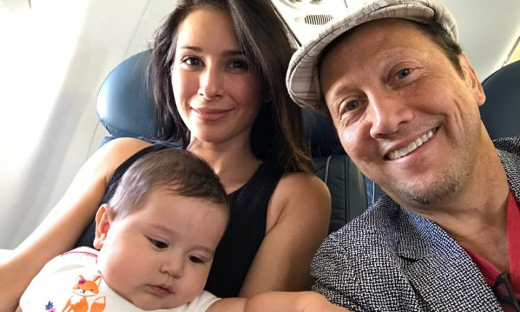 Rob Schneider's children - daughter Madeline Robbie Schneider