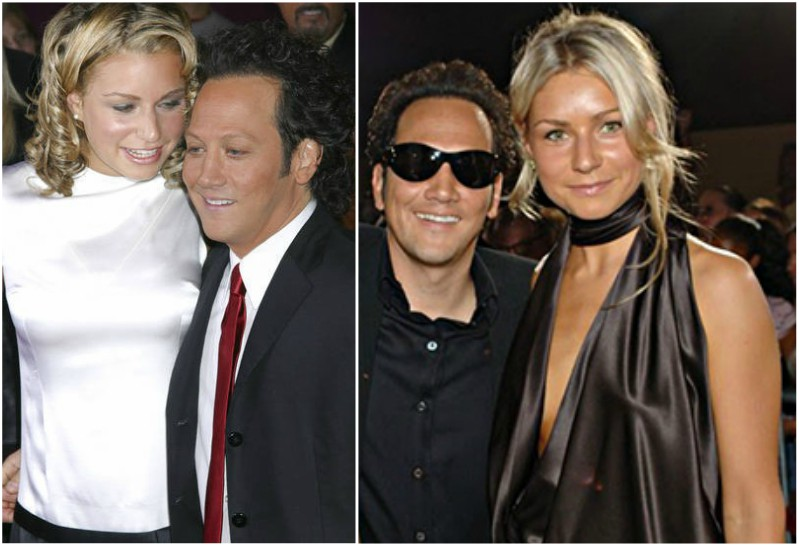 Rob Schneider`s family - ex-wife Helena Schneider