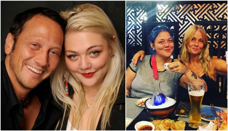 Robert Schneider family - daughter Elle King and ex-wife London King