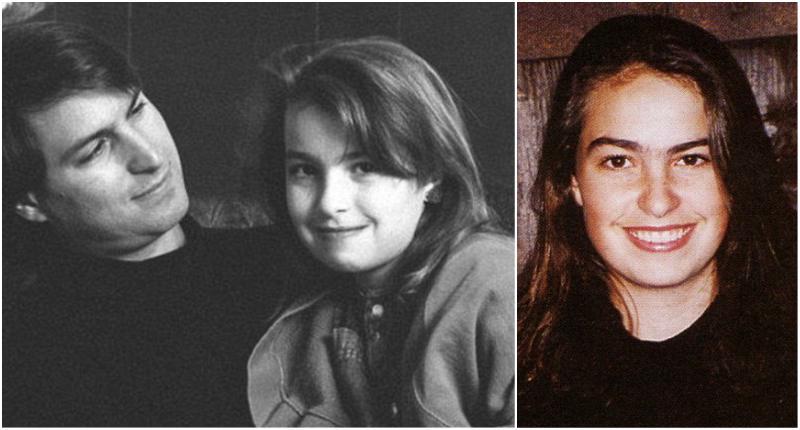 Steve Jobs` children - daughter Lisa Brennan-Jobs