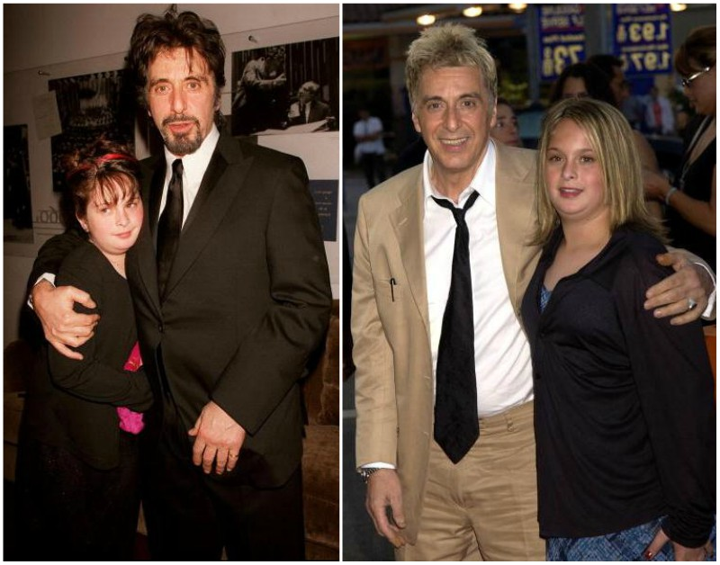 Al Pacino's children - daughter Julie Pacino