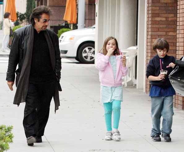 Al Pacino's children - twins daughter Olivia and son Anton