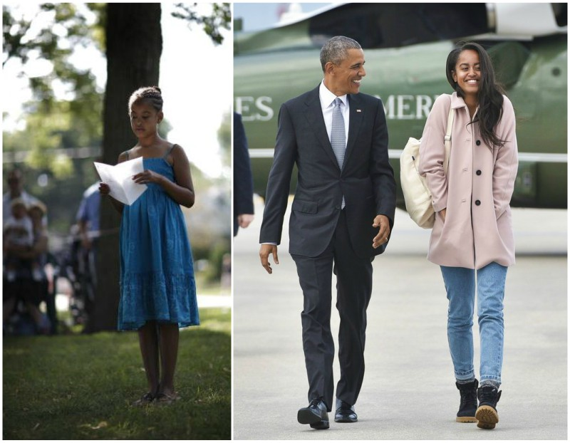 Barack Obama`s children: daughter Malia Obama