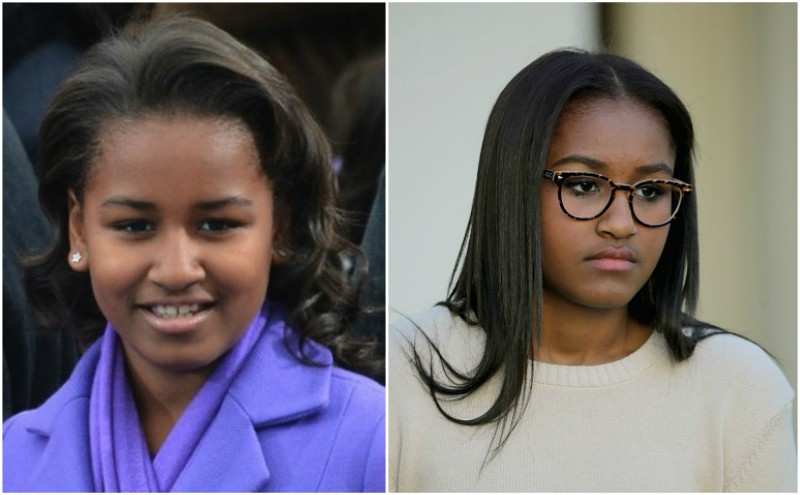 Barack Obama`s children: daughter Sasha Obama