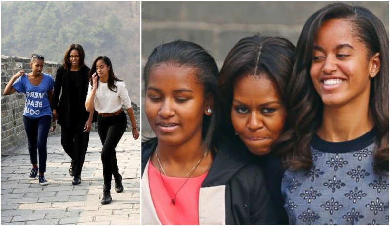 Barack Obama`s kids: daughters Malia and Sasha Obama
