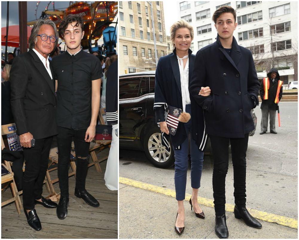 Bella Hadid's siblings - brother Anwar Hadid