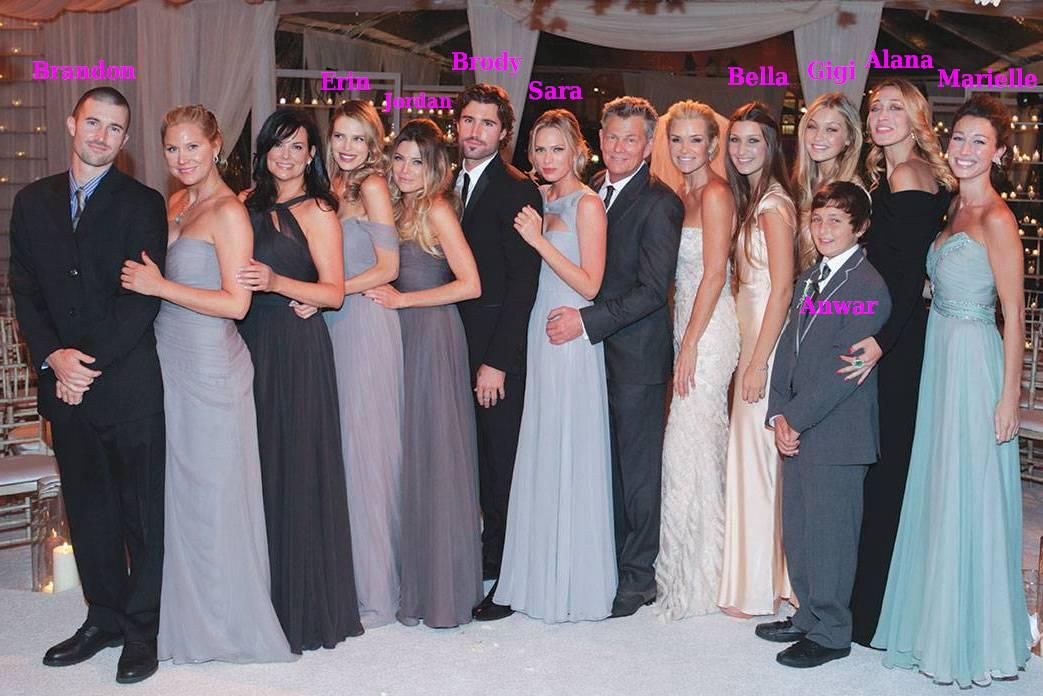 Bella Hadid siblings and step-siblings