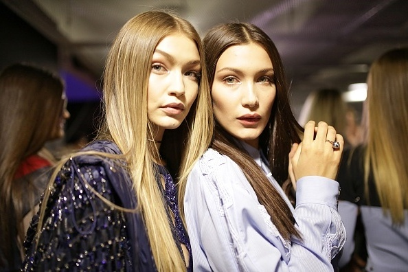 Bella Hadid with sister Gigi