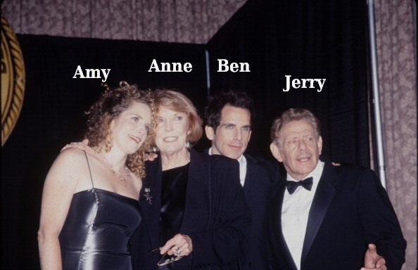 Ben Stiller`s family - parents and sister