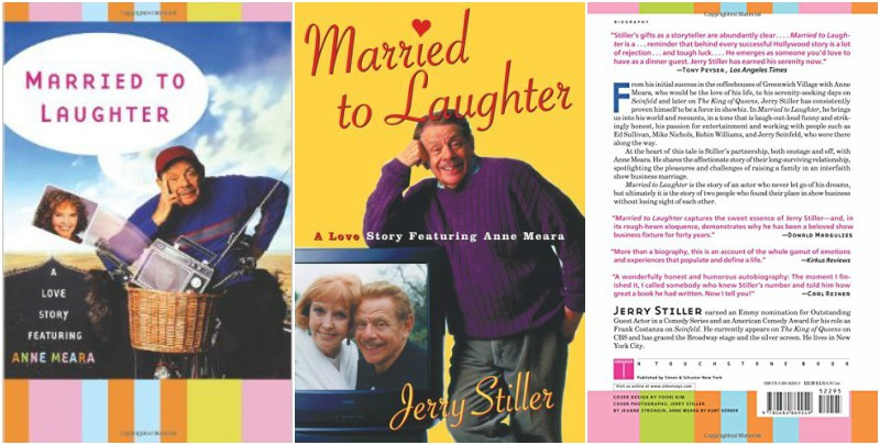 Jerry Stiller`s book - Married to Laughter: A Love Story Featuring Anne Meara