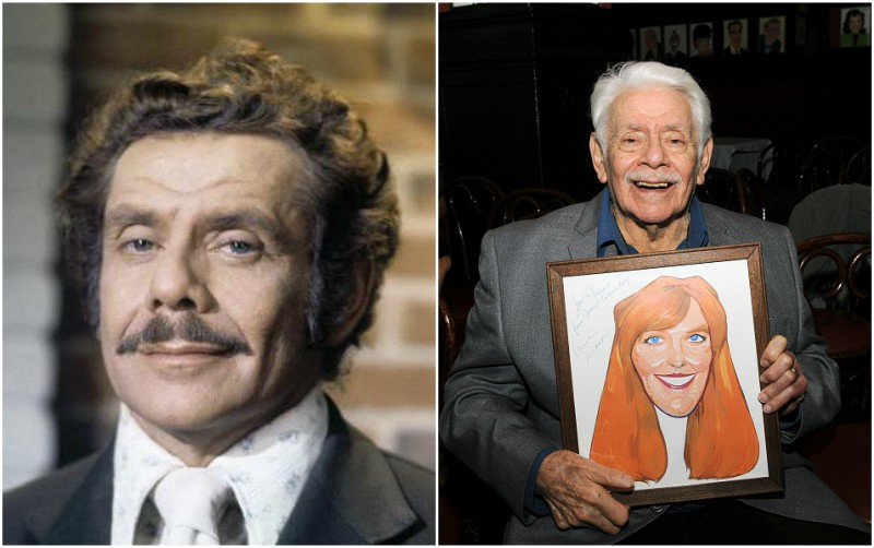 Ben Stiller`s parents - father Jerry Stiller