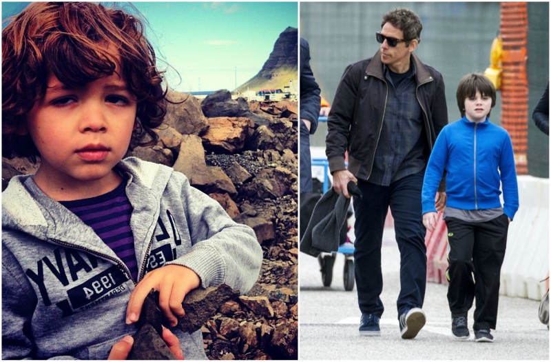 Ben Stiller and Christine Taylor's beautiful children