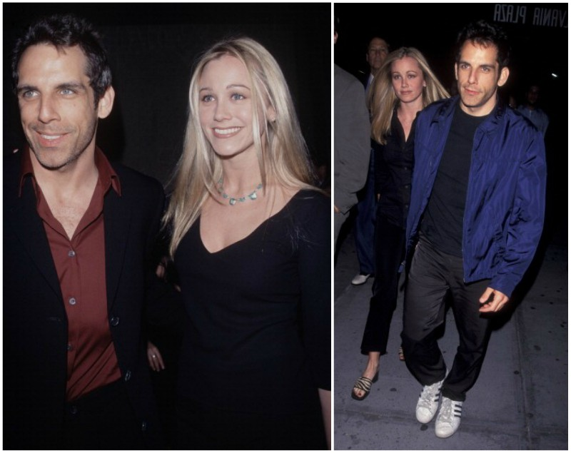 Ben Stiller`s family - wife Christine Taylor