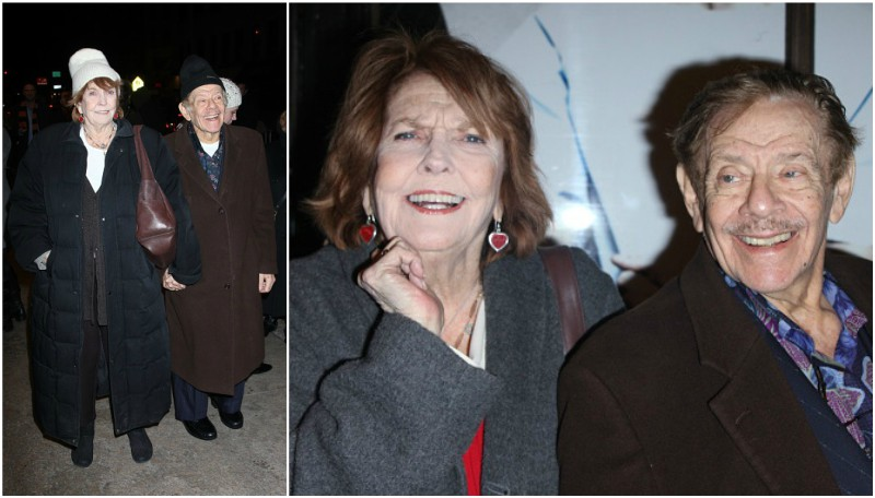 Ben Stiller`s parents - mom Anne Meara and dad Jerry Stiller