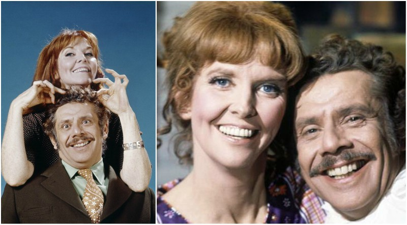 Ben Stiller`s parents - mother Anne Meara and father Jerry Stiller