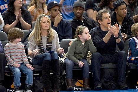 Ben Stiller`s family