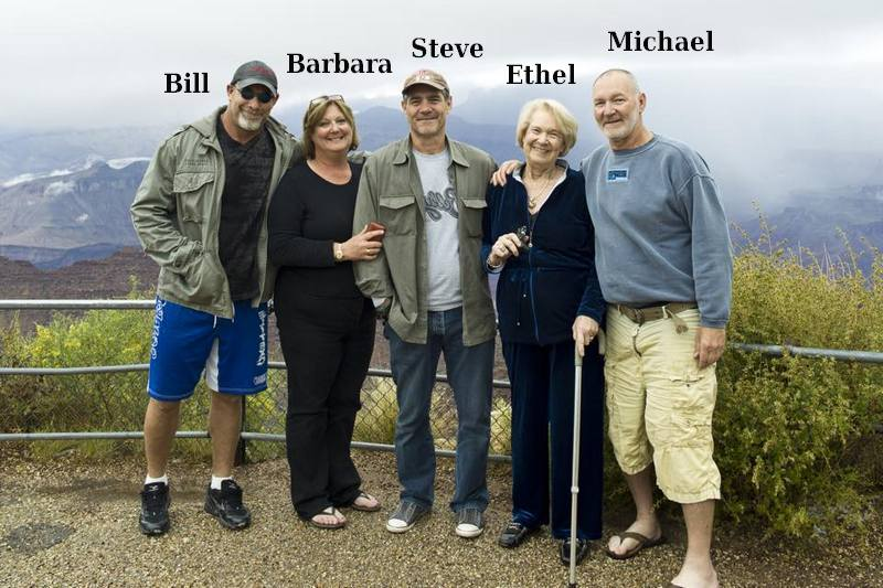 Bill Goldberg`s family - mother and siblings