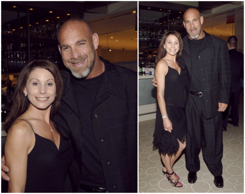 Bill Goldberg`s family - spouse Wanda Ferraton