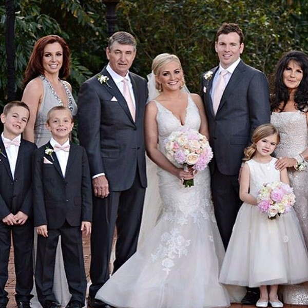 Britney Spears' family on Jamie-Lynn Spears` wedding